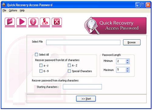 msaccess password recovery, Recover Password for Access